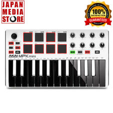 AKAI MPK Mini MK2 mkII White Compact Keyboard Pad Controller 100% Genuine