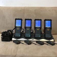 Lot of 4 Symbol Motorola Mc9090-Gj0Hbega2Wr Lorax Windows Ce Barcode Scanners!