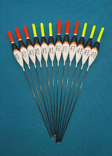 *BARGAIN* 12 x Assorted High Quality Pole Fishing Floats (Pack M)