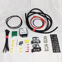 LIGHT DUTY CARGO SPLIT CHARGE KIT 5MTR 12V 70A AMP RELAY 50 AMP CABLE VSR