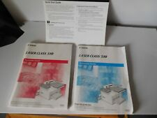 Canon Laser Class 510 Reference & Facsimile Guides 2003 Printed in Korea