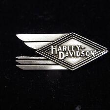 HARLEY DAVIDSON *****SHOOTING DIAMOND***  PEWTER PIN  BEAUTIFUL