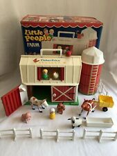 Vintage 1985 Little People Farm Fisher-Price 2501