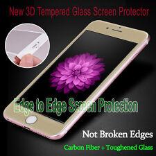 pour iPhone 6s Neuf Or Couverture Complète verre trempé 3D Courbé Protège Écran