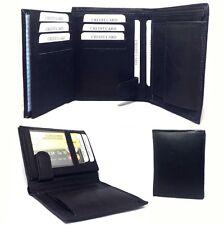 Herren echt Ledergeldbörse Portmonee Portemonnaie Geldbeutel Brieftasche *DE*