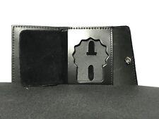 NY Detective  Shield  Cut-Out & ID Card Snap Wallet