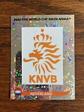 NEDERLAND TEAM PANINI FOIL STICKER, WORLD CUP SOUTH AFRICA 2010 #SA335