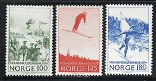 NORWAY 1979 HUSEBY HILLS SKI COMPETITION CENT/SKI JUMP/CROSS-COUNTRY RACE  MNH