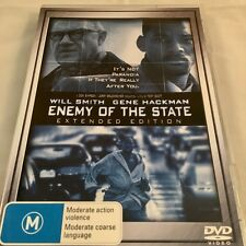 Enemy Of The State - Will Smith, Gene Hackman Extended Edition DVD Region 4 PAL
