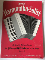 Der Harmonika-Solist - Band 1 /// 12 Spezial-Kompositionen