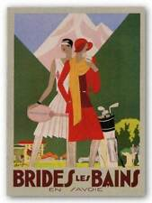 Brides les Bains Benigni Art Print 30x22