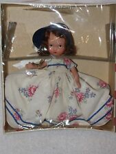 Vintage #158 Sugar & Spice Bisque Nancy Ann Storybook Doll Red Polka Dot Box