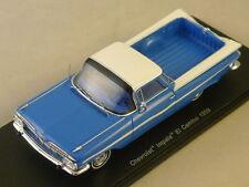 Spark S2906 - CHEVROLET Impala El Camino 1959 Bleu 1/43