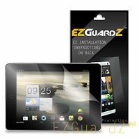 1X EZguardz Clear Screen Protector Shield 1X For Acer Iconia A1-810