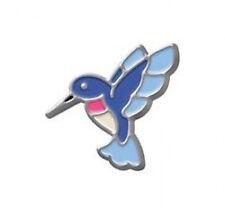 Blue Hummingbird Floating Charm for Glass Living Memory Lockets