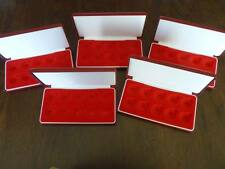 5 Deluxe Full Oro Reale Custodie Per 10 Monete