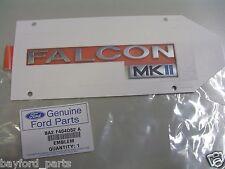 Genuine Ford BA BF Mk2 Falcon Rear Badge Nameplate Decal 10/2004 BA2F404D52A