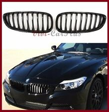 09-2014 BMW E89 Z4 Convertible Performance Type Front Kidney Grille Gloss Black