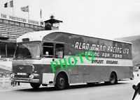 PHOTOGRAPHIE  CAMION RACING RALLYE FORD  1960  17X13 PHOTO TRUCK CARS COURSE