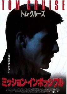 MISSION: IMPOSSIBLE - Original Japanese  Mini Poster Chirashi A