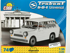 COBI Building Bricks 24540, Trabant 601 Universal, 74 Pieces, Kit Scale 1:3 5