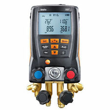 Testo 557 Digital Manifold Kit With Bluetooth Enabled 0563 1557