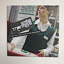 ARCTIC MONKEYS - I BET YOU LOOK GOOD ON THE DANCEFLOOR 7 INCH VINYL  FREE P&P UK