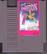 HEAVY SHREDDIN with cosmetic flaws ORIGINAL NINTENDO GAME SYSTEM NES HQ