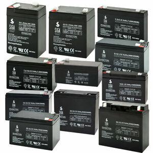 Blei Akku Batterie 6V 12V 3,4Ah 5Ah 4,5Ah 7Ah 7,2Ah 9Ah 12Ah 15Ah 18Ah 20Ah 24Ah