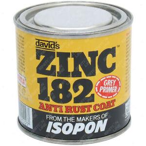 Zinc 182 Anti Rust Corrosion Primer Fast Vehicle Repair Protect Grey 250ml