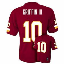 NFL Team Apparel ROBERT GRIFFIN III RG3 Redskins! Home Jersey YOUTH Large NEW!