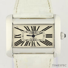 Cartier Tank Divan Automatic Stainless Steel Ref. 2612