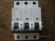 Siemens C16 MCB 400 Volt 3 polig Sicherung Automat Hutschiene Schaltschrank