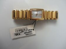 Eco _ Stainless Steel Gold-Plated _ Classy,High Quality Wrist Watch _ Citizen