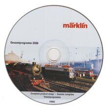 1 x CD ROM-MÄRKLIN: Gesamtprogramm 2006-Modellbahn, ohne OVP #19882