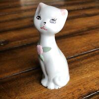 Vintage Ceramic Kitty Cat Figurine Statue MCM EUC