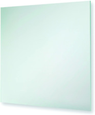 WALL MOUNTED SQUARE FROSTED BATHROOM, HALL, BEDROOM HANGING MIRROR