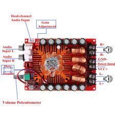 TDA7498E 160W+160W 2 Channel Digital Audio High Power Amplifier Board Module TP