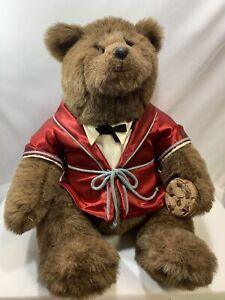 Gund Vintage 1983 Dennis Kyte ABINER SMOOTHIE Bear 19in