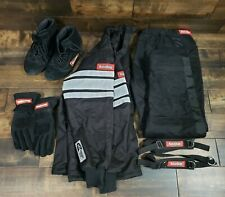 RaceQuip Auto Racing Safety Driving Suit Xxl w/ Boots and Gloves Pre-owned