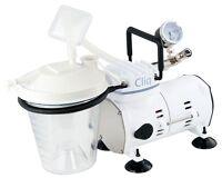 Roscoe Medical Dental Cliq Heavy-Duty Suction Aspirator Machine CF608 NEW