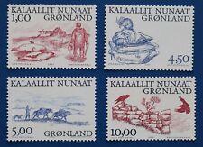 Greenland (380-383) 2001 Arctic Vikings singles set