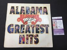 Randy Owen Signed Album Cover JSA Alabama Country Singer Greatest Hits