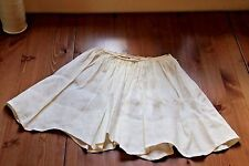 Chloe Girl Skirt Cream 8 years Double Layered Cotton Gift