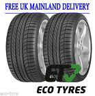 2X Tyres 285 45 R19 111W XL GoodYear Eagle F1 SUV ROF RFT C A 70dB