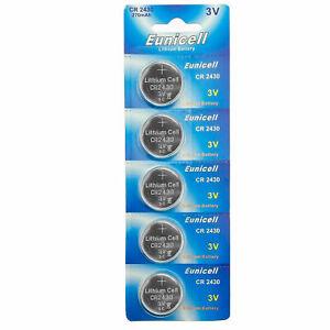 5 x PoundMax 2430 CR2430 DL2430 K2430L ECR2430 3V Lithium Coin Cell Batteries