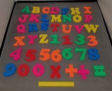 43pcs Plastic Alphabet Letters Numbers Math Kids Fridge Magnet Educational Toy