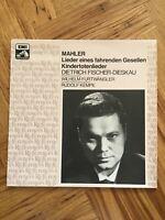 """Mahler - Lieder Eines Fahrenden Gesellen 12"""" Vinyl LP EMI 1008981 Free UK Post."""