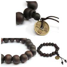 Bracelet de prière Tibétain bois 23 perles élastique