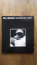 Bill Brandt – Shadow of Light (1st/1st UK 1977) Night in London English at Home